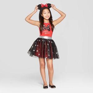 Disney Girls Size XXL 18 Minnie Mouse Dress